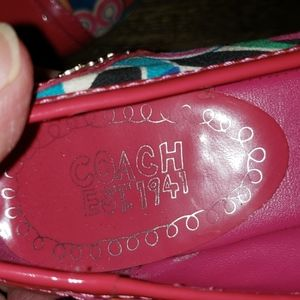 Coach Shoes - Coach Remmi Poppy Pop C Ballet Flats